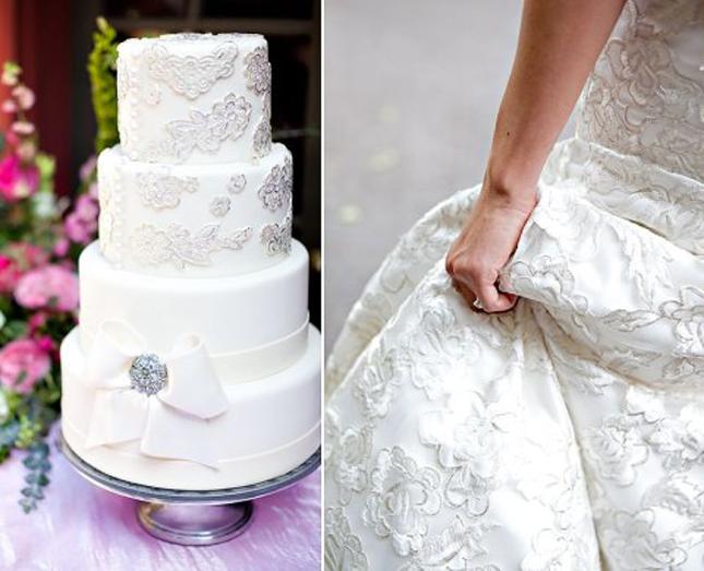 Weddings Fashion Cake 04