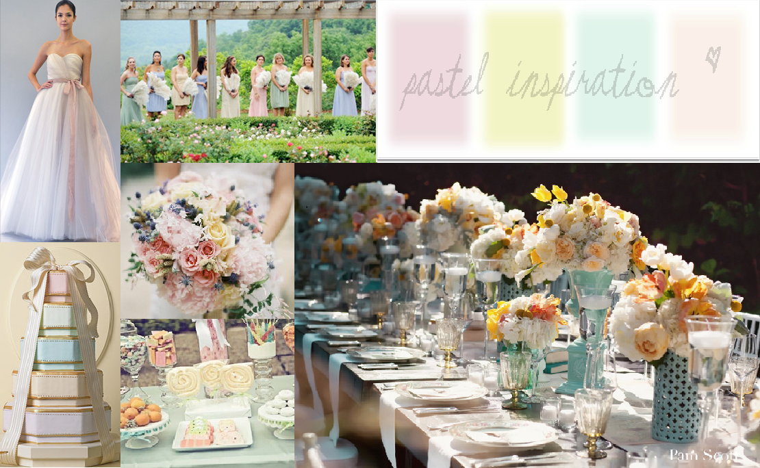 Pastel Wedding Cake Table Pretty Easter Inspiration Bright Occasions