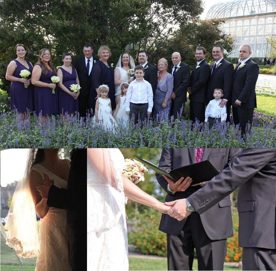 Baltimore Wedding At Rawlings Conservatory Botanical