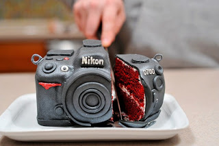 nikon grooms cake