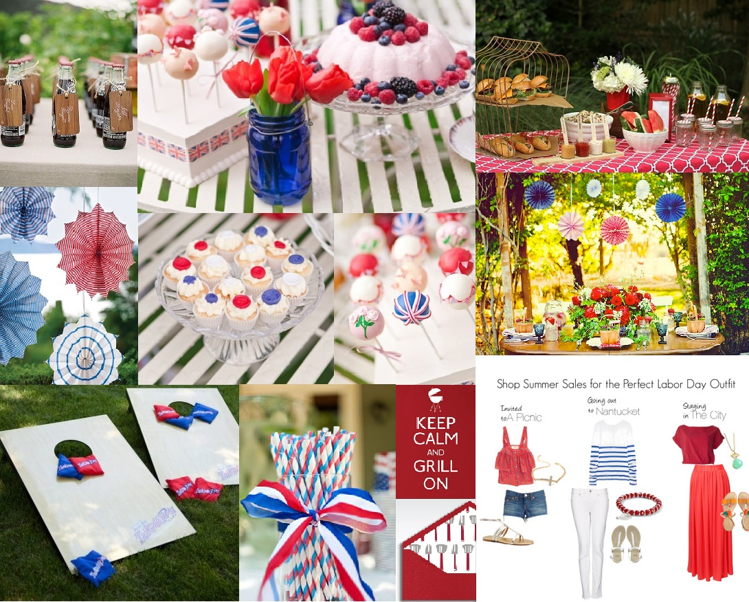 labor day party inspiration bright occasions