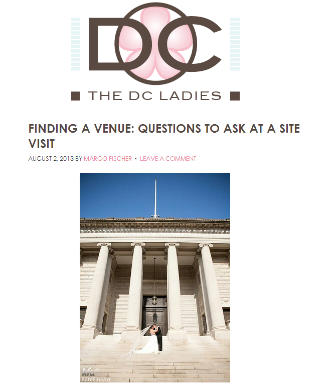 Finding a Venue: Questions to Ask at a Site Visit