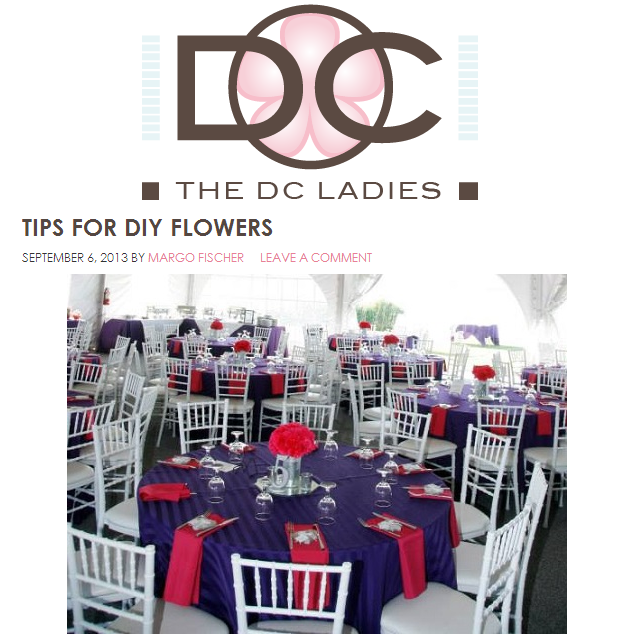tips for diy flowers the dc ladies bright occasions