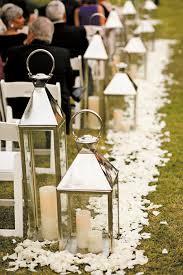 Lantern ceremony aisle, brides.com