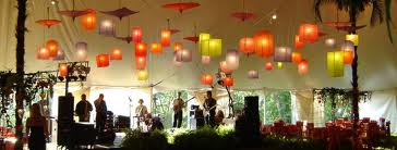 Paper lanterns reception decor, weddingwire.com