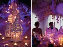Moroccan lanterns line the table, vi.sualize.us