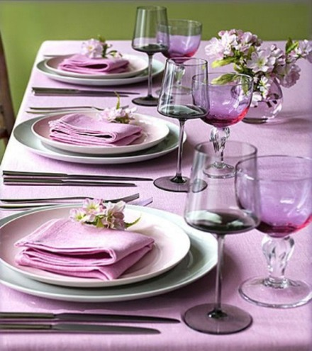 Tone on Tone Wedding Table - thespecialeventexperts.com via Eat. Sleep.   Plan