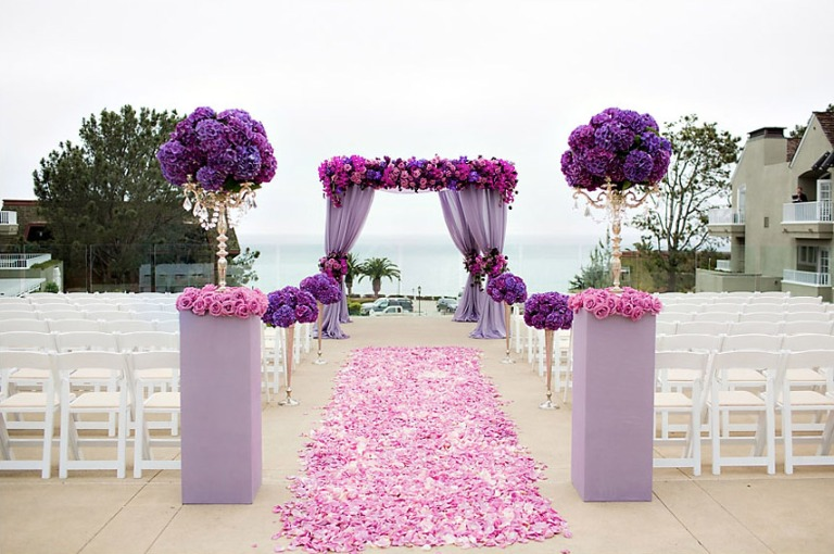 Radiant Orchid Ceremony Space