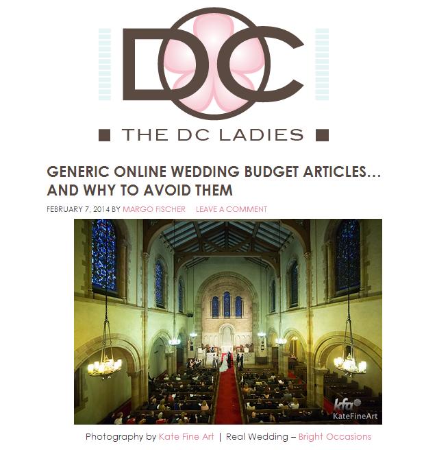 the dc ladies recap generic online wedding budget articles bright