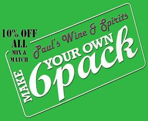 Current Promotion, Paul's Wine and Spirits