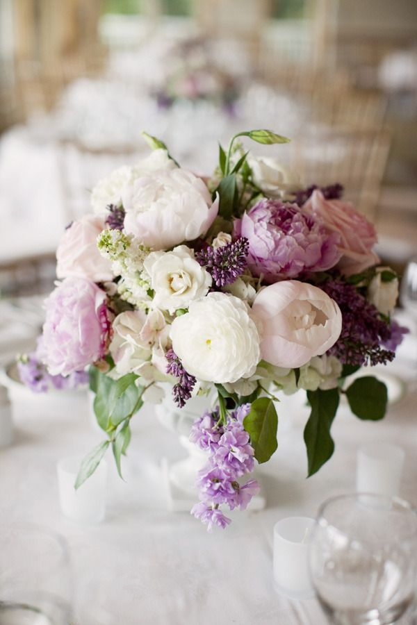 Purple Tablescapes via stylemepretty.com