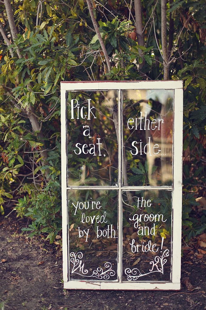 Vintage window found on Glamour and Grace Blog, Photo by Lukas & Suzy VanDyke